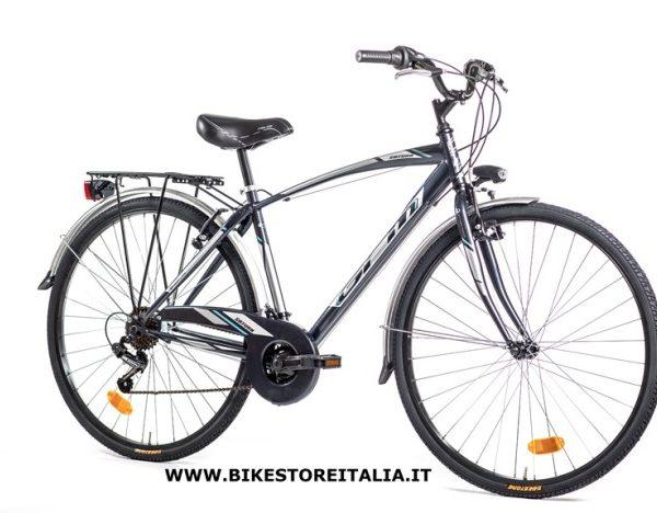 saturn man 28 shimano tz 21v blu silver azzurro bike. Black Bedroom Furniture Sets. Home Design Ideas