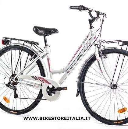 saturn lady 28 shimano tz 6v bianco silver rosa bike. Black Bedroom Furniture Sets. Home Design Ideas