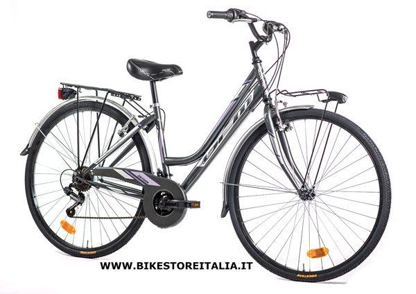 saturn lady 28 shimano tz 6v fume silver viola bike. Black Bedroom Furniture Sets. Home Design Ideas